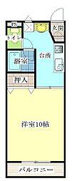サンライズ藤[1階]の間取り