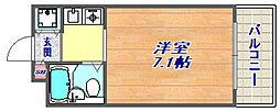 ジョイフル東灘5[3階]の間取り