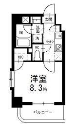 タウンライフ名駅[4階]の間取り