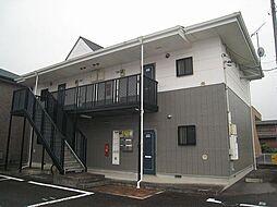 群馬県高崎市剣崎町の賃貸アパートの外観
