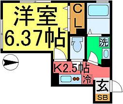 D-room松島1丁目[103号室]の間取り