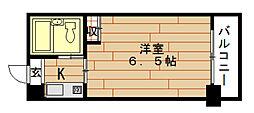 LeA・LeA九条53番館[9階]の間取り