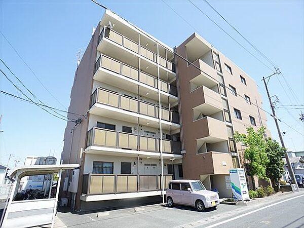 静岡県浜松市東区中里町の賃貸マンション