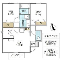 ルミエールK VI[103号室号室]の間取り