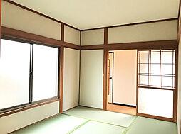 1F約6帖和室。客間に最適です。