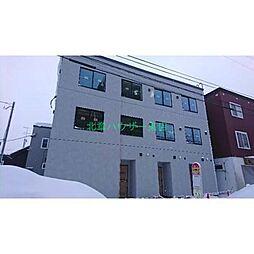 [テラスハウス] 北海道札幌市東区北二十五条東3丁目 の賃貸【/】の外観