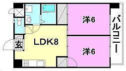第5ゴトービル[403 号室号室]の間取り