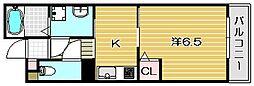サンク[2階]の間取り