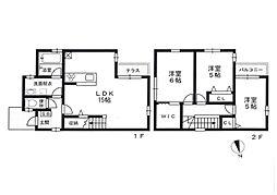 [一戸建] 福岡県福岡市早良区高取2丁目 の賃貸【/】の間取り