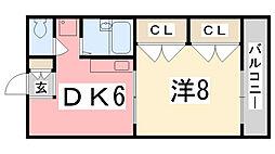E−MATE[103号室]の間取り