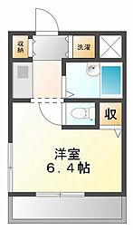 ジョイフル武庫川[3階]の間取り