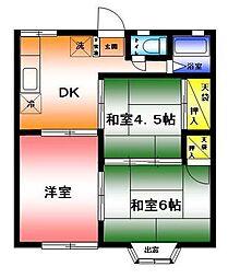 ルミエール湘南ステージIV[2階]の間取り