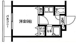 ベルファース朝霞台[1階]の間取り