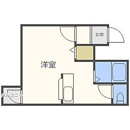エムズアパートメント[4階]の間取り