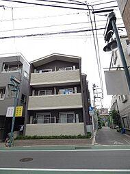 東京都品川区東中延1丁目の賃貸アパートの外観