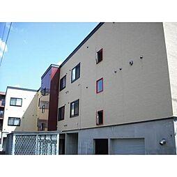 北海道札幌市北区北二十一条西2丁目の賃貸アパートの外観