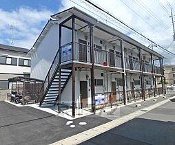 京都府京都市西京区樫原六反田の賃貸アパートの外観