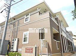 静岡県静岡市清水区石川新町の賃貸アパートの外観
