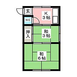 中村公園駅 2.8万円