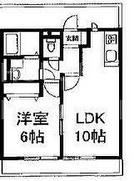 KMハイム[105号室号室]の間取り