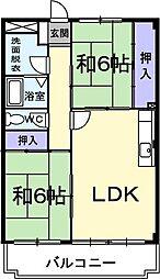 メトロポール東川口[0306号室]の間取り