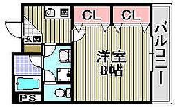 ジェンティール立石2[407号室]の間取り