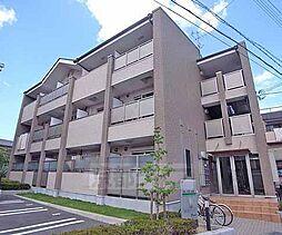 京都府京都市山科区大宅打明町の賃貸マンションの外観