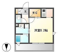 エスペランサ葵[5階]の間取り