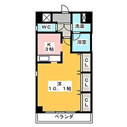 アートスクエア一社[2階]の間取り