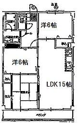 アプリコットKANDA[2階]の間取り