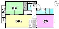 シャルマンエイト[203 号室号室]の間取り