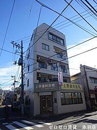 東京都北区赤羽西4の賃貸マンションの外観