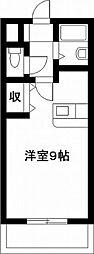 エレガンス11[603号室]の間取り