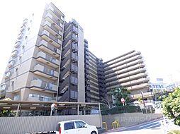 大阪府河内長野市自由ケ丘1丁目の賃貸マンションの外観