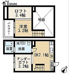 グレイスII (グレイスツー)[2階]の間取り