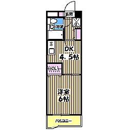 小金井第4オリエントプラザ[1階]の間取り