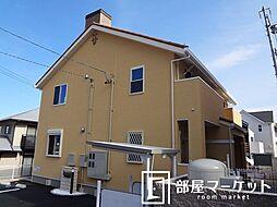 愛知県豊田市伊保町向山の賃貸アパートの外観