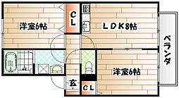 プラムONE長野[1階]の間取り