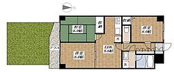ライオンズマンション昭島第二[103号室]の間取り