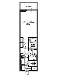 サウスビレッジV[3階]の間取り