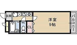 フォレスト醍醐[316号室号室]の間取り