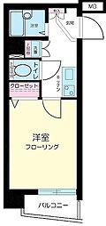 エスコート渋谷[2階]の間取り