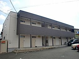 福岡県北九州市小倉北区原町1丁目の賃貸アパートの外観