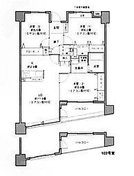 ウィズ新横浜[302号室]の間取り