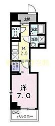 神奈川県横浜市中区上野町2丁目の賃貸マンションの間取り