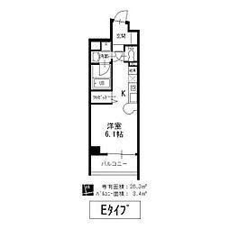 サン・エターナル亀城[4階]の間取り