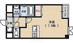 CASA FLUENTE[3階]の間取り