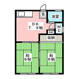 北山駅 3.8万円