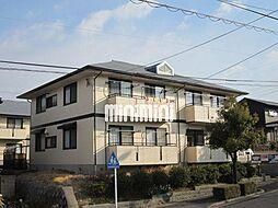 愛知県半田市北二ツ坂町3丁目の賃貸アパートの外観