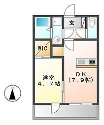 (仮称)FAMILY STAGE八田[2階]の間取り